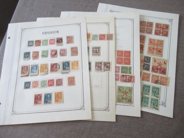 Georgië 1919/1921 - Almost complete collection of stamps