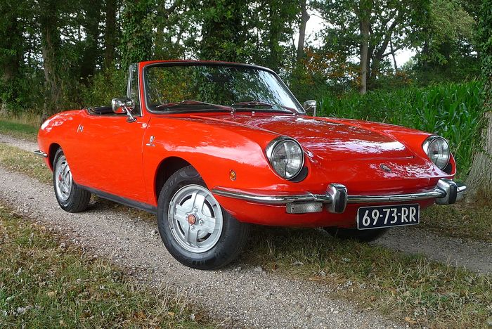 Fiat - 850 Sport Coupe Spider - 1971