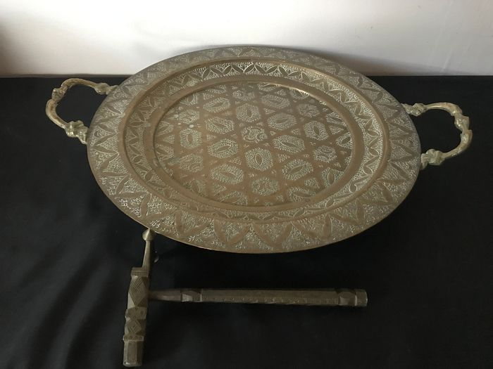 Hammer and tray (2) - Mid-Century Modern - Bronze