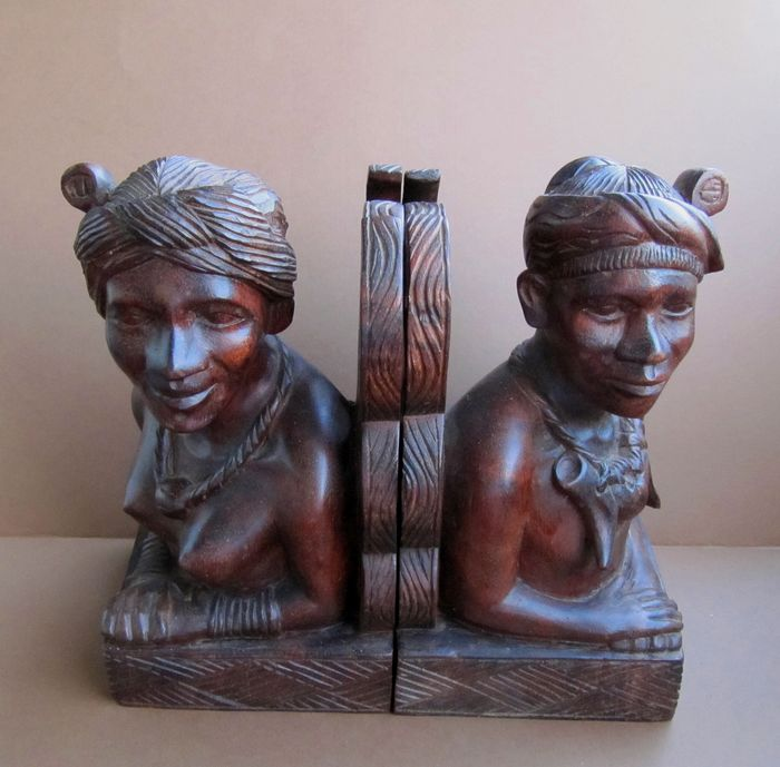 Book ends - Wood - Igorot - Philippines