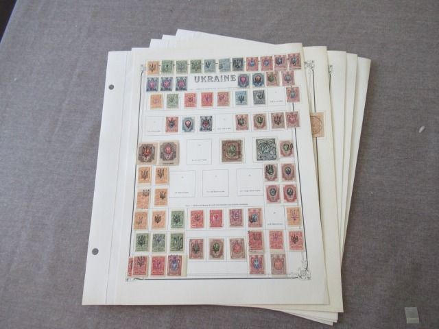 Oekraïne 1919/1921 - Collection of stamps