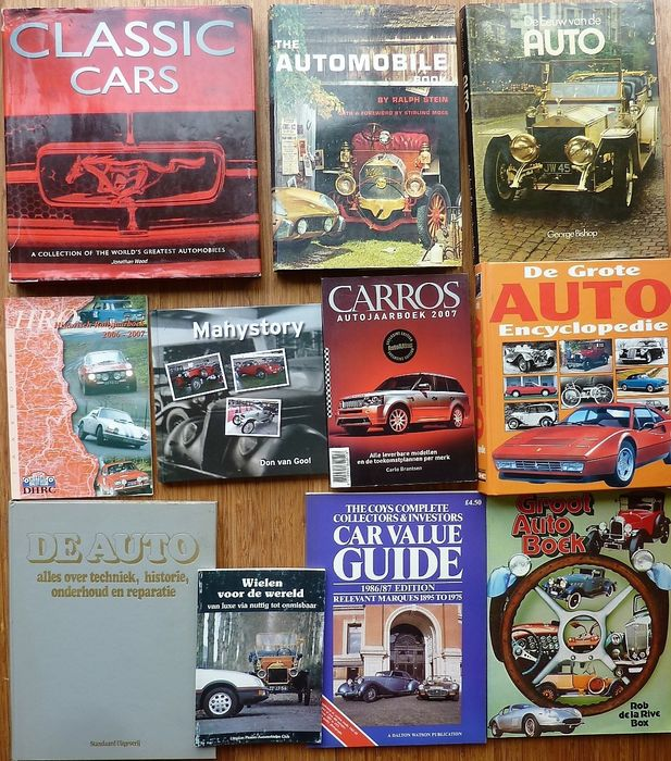 Books Oldtimers Classic Cars Etc 1962 2007 Catawiki