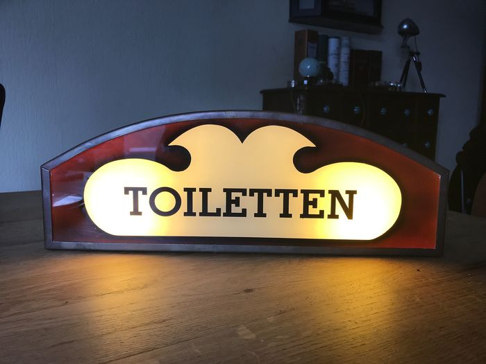 Toilets lamp - Copper