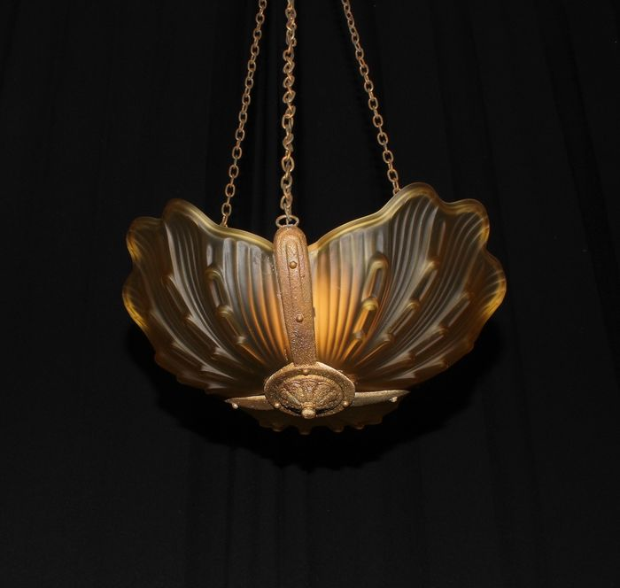 French Art Deco luster