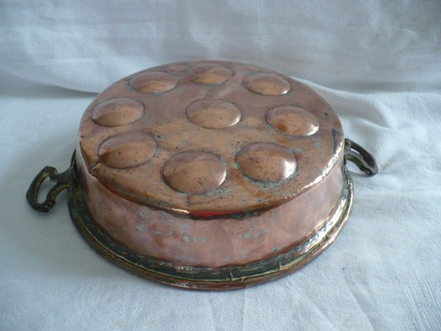 large old copper mold with 9 cells - Copper