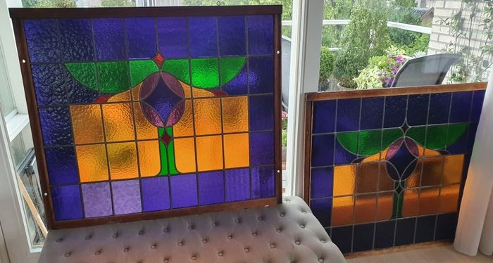 stained glass (2) - Art Deco - Stained glass