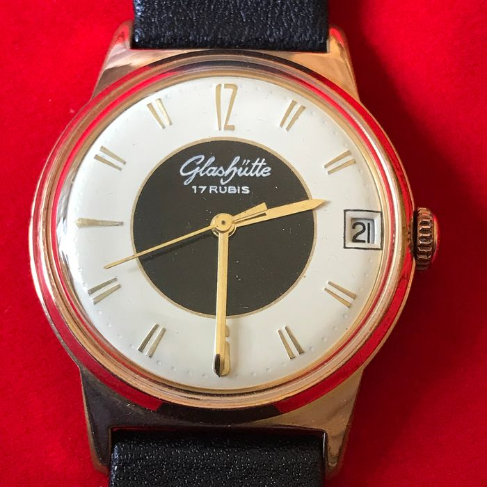 GUB Glashütte - Manual winding Calibre 69.1 - Near Pristine conditions. - cw-191002 - Homem - 1960-1969