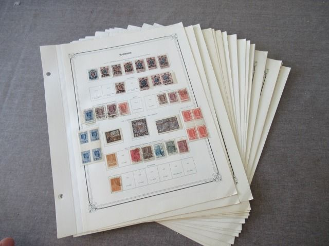 Russia 1922/1940 - Stamp collection