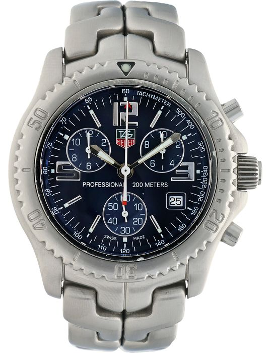 TAG Heuer - Link Chronograph - CT1110 - Men - 2000-2010