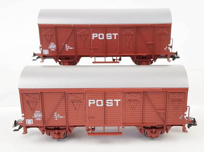 Märklin H0 - 46271 - Freight wagon set - Two mail wagons - NS