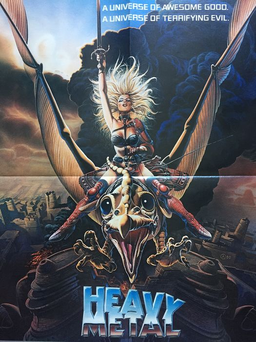 Gerald Potterton Poster Heavy Metal 1981 Original Us Catawiki
