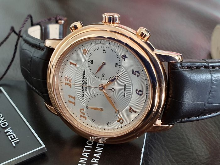 Raymond Weil -  Maestro Watch Automatic Rose gold plated  - 4830-PC5-05658 - Homem - 2018