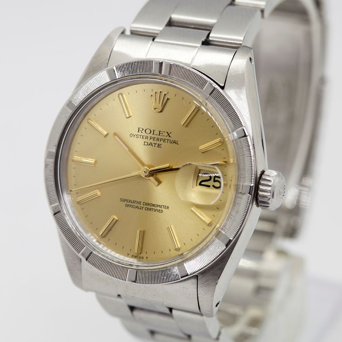 Rolex - Oyster Perpetual Date - 1501 - Hombre - 1960-1969