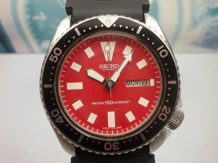 Seiko - Scuba Divers 150 m  - 590572 - Men - septembre 1985