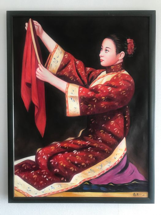Oil painting - Canvas - China - 21st century