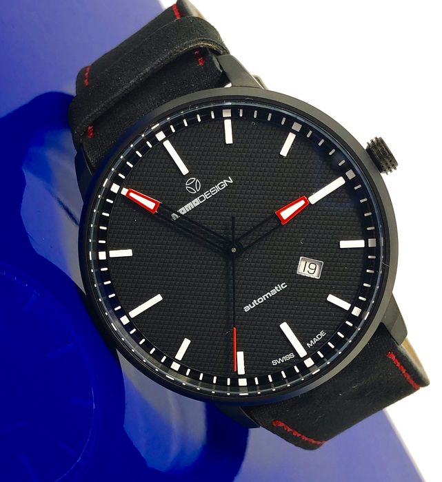 """MomoDesign - Automatic Watch Essenziale Red Tone Black PVD Swiss Made - MD6004BK-12 """"NO RESERVE PRICE"""" - Homme - Brand New"""