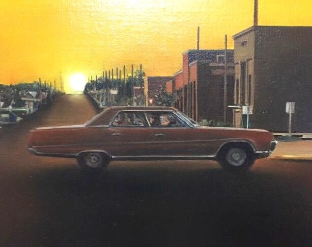 Painting, oil paint Araun Curtain - Buick - Electra 1969/1970 - 1989-1989