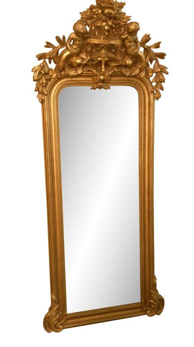 Mirror - Neoclassical Style - Wood - 19th century