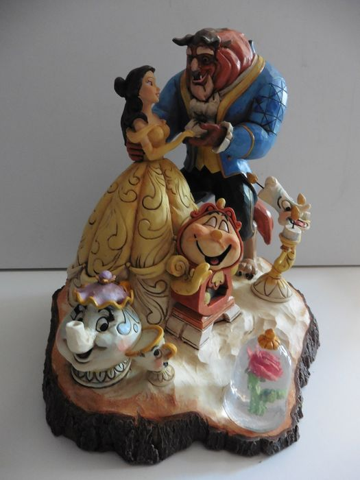 Disney Showcase Collection - Beeldje -  Beauty and the Beast (2013)
