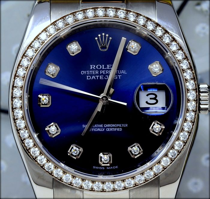 Rolex -  Oyster Perpetual Datejust  Ref. 116244  - Unisex - 2011-heute