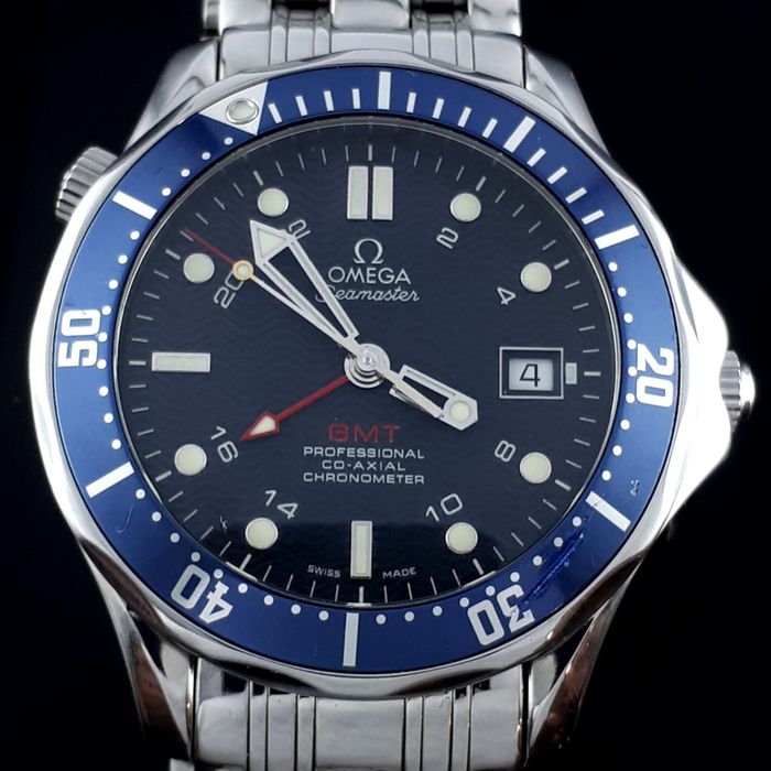 Omega - Seamaster Professional GMT Co Axial Chronometer  - Herre - 2011-nå