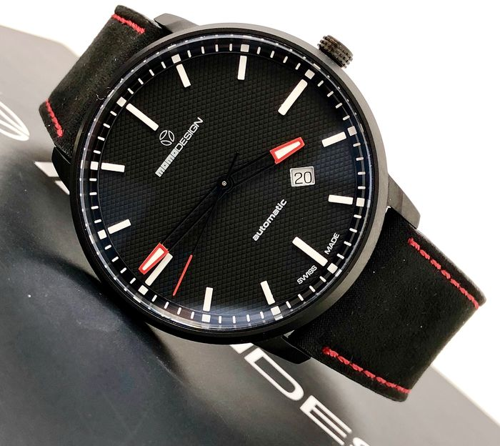 "MomoDesign - Automatic Watch Essenziale Red Tone Black PVD Swiss Made - MD6004BK-12 ""NO RESERVE PRICE"" - Men - Brand New"