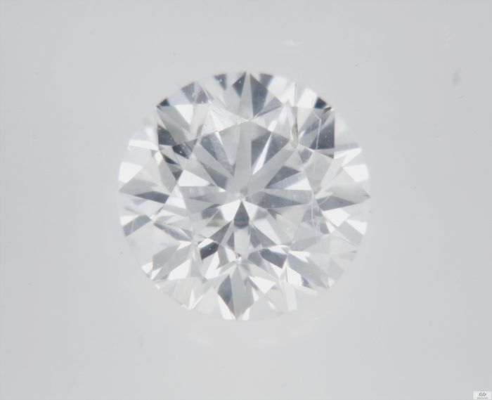 Diamant - 0.31 ct - Brilliant - F - VS2