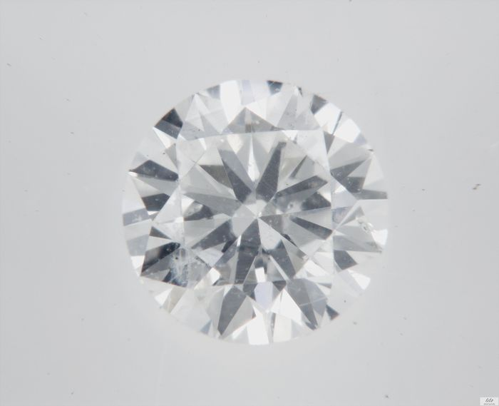 Diamant - 0.34 ct - Brillant - E - SI1