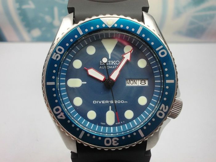 Seiko - Scuba Divers  200 m - 7S26-0020 - 821784 - Men - 1990-1999