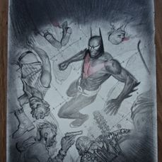 Batman Beyond #20 - Original Cover Art by Viktor Kalvachev  - EO