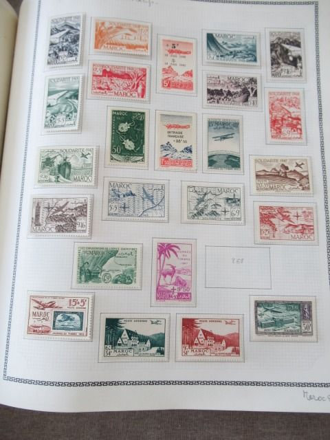 Marokko 1917/1962 - Almost complete collection of stamps