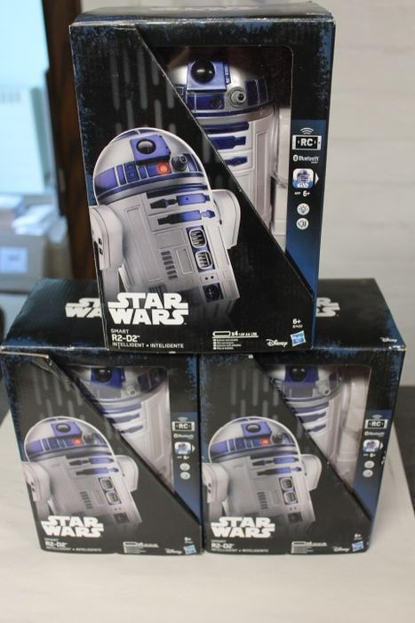 Hasbro - 3X star wars robot remote control with cell phone