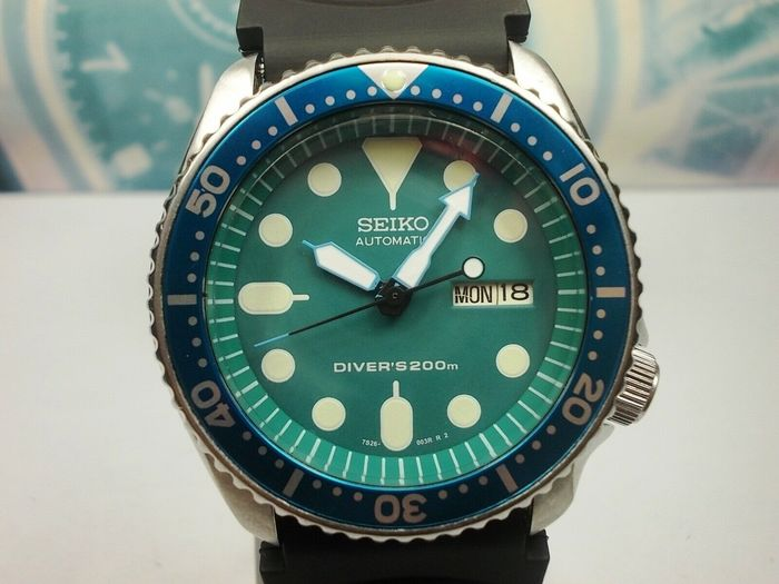 Seiko - Scuba Divers  200 m - 7S26-0020 - 821035 - Men - 1990-1999