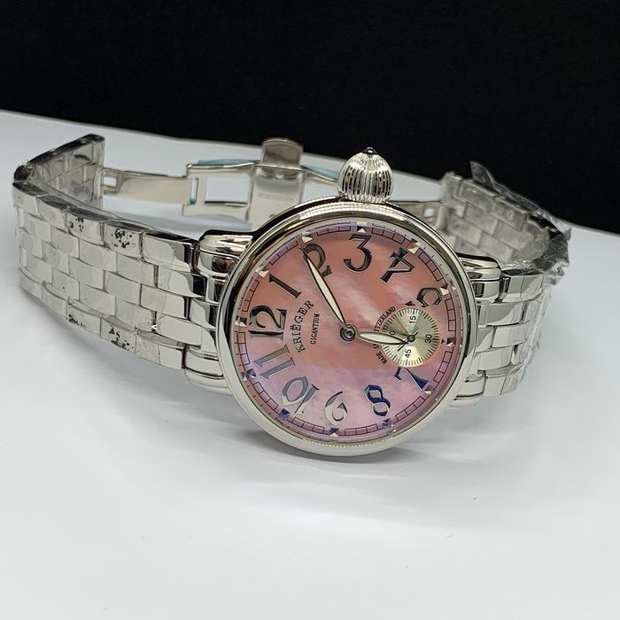 Krieger - Pink Mother of Pearl Dial - K7007.2.815 - Unisex - 2011-heute