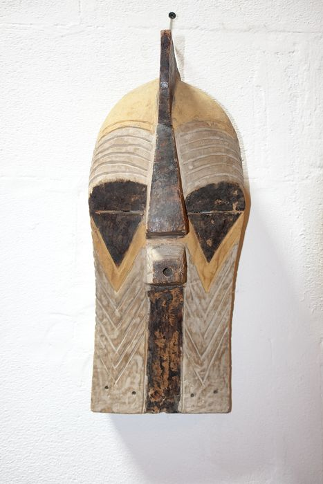 Mask - Wood - Kifwebe - Congo
