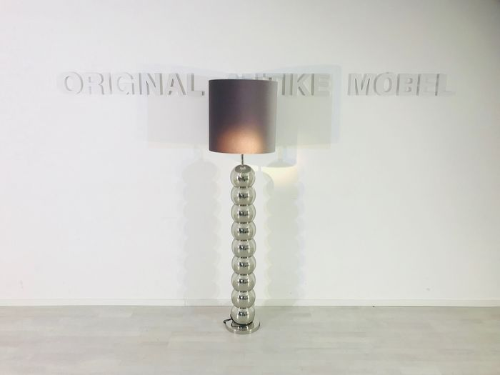 Design floor lamp chrome