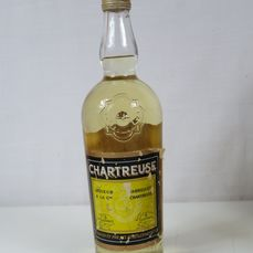 Chartreuse - Grande Chartreuse Yellow/Jaune - Voiron - b. Anni '60 - 70cl