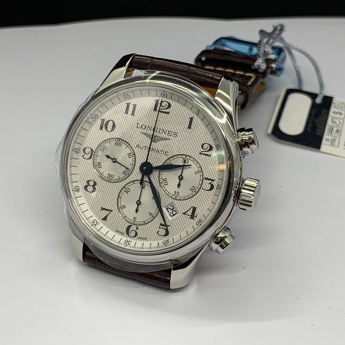 Longines - L28594783 Master Chronograph 44mm - Men - 2011-present