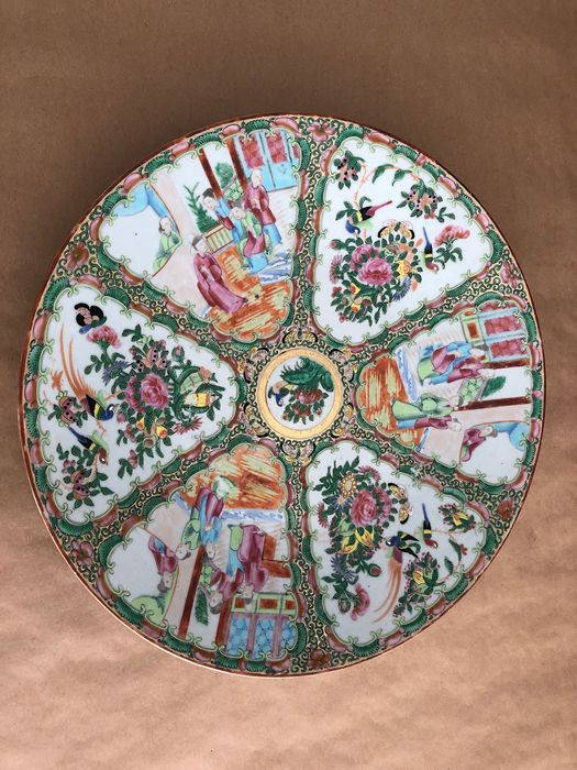 Plate (1) - Porcelain - China - 19th century
