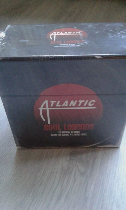 Artha Franklin, Otis Redding, Ray Charles - Multiple artists - Atlantic soul legends - Multiple titles - CD Box set - 2012/2012