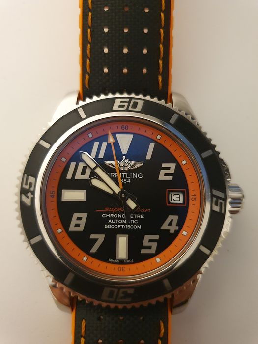 "Breitling - Superocean 42 Abyss 2012 Limitiert 941/2000 FULL SET ""NO RESERVE PRICE"" - A17364 - 男士 - 2011至现在"