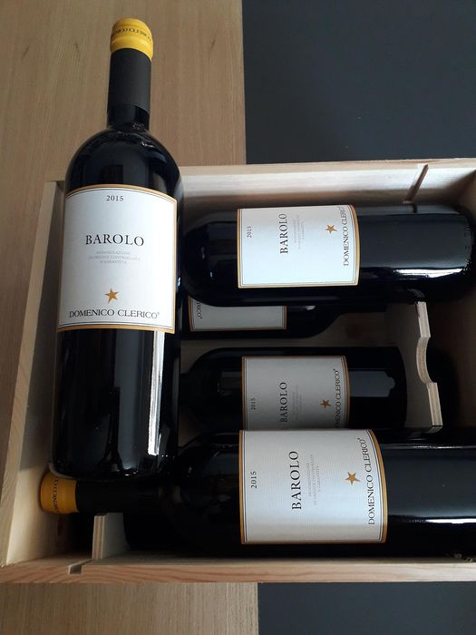 2015 Domenico Clerico - Barolo - 6 Bottles (0.75L)
