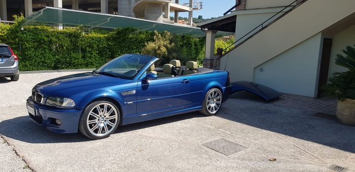 BMW - M3 E46 cabrio con hard top - 2002
