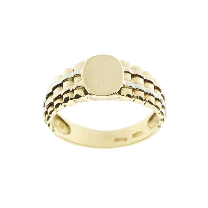 Made in Italy - 18 kt Gelbgold, Roségold, Weißgold - Ring
