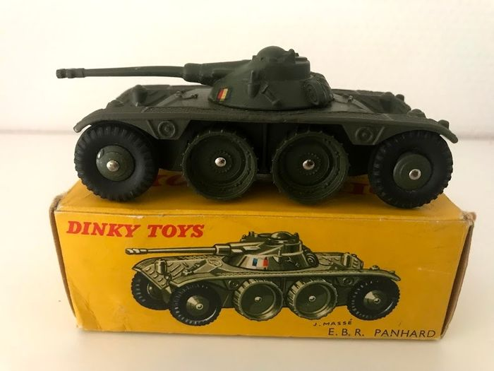 boite EBR PANHARD 80 A repro DINKY TOYS  militaire n29