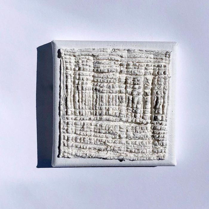 Jan Schoonhoven jr. (1975)  - Wit Vlak / White Square