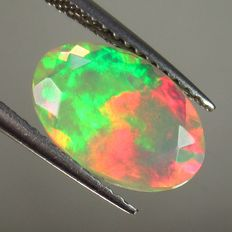 Faceted Opal - 1.63 ct