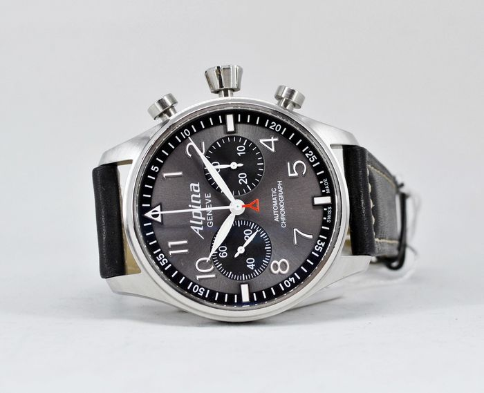 Alpina - Startimer Pilot Automatic Chronograph - AL-860GB4S6 - Heren - 2011-heden