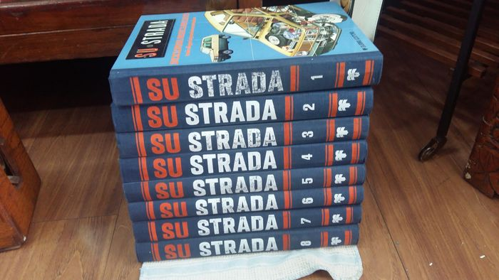 Classic car technical encyclopaedia - AUTO SU STRADA - RARE TECHNICAL ENCYCLOPAEDIA 'SU STRADA' 1980 - 1978-1980