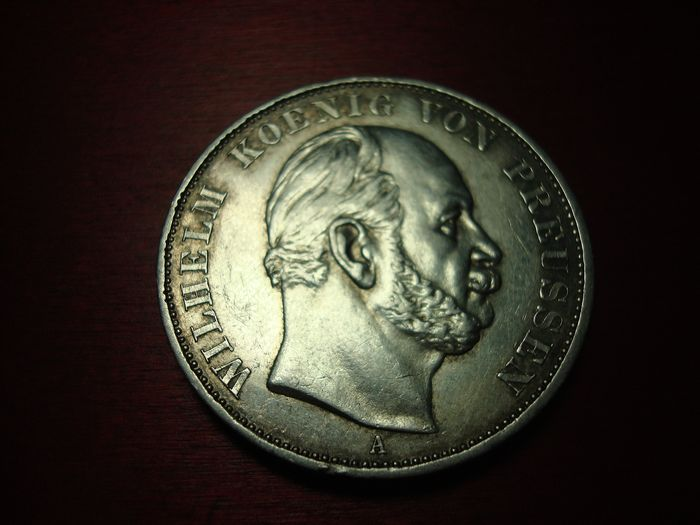 German Empire, Prussia - Siegestaler 1871 A - Silver